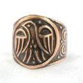 Кольцо «Макошь» - 330 руб.  На перстне изображена славянская богиня Макошь - богиня плодородия в птичьем обличии. Макошь - женское божество в восточнославянской мифологии, покровительница женского начала, плодородия.