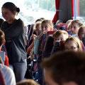 Lange, lange Busfahrt