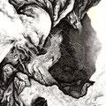 """"""" Etat passif"""", 42 x 29,7 cm, 2014"""
