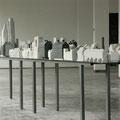 Betonkunst Nürnberg • 2005 •  Raumaufnahme • Stahl, Betonguss