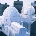 Betonkunst Nürnberg • 2005 •  Detailaufnahme • Stahl, Betonguss
