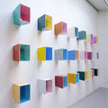 Galeriehaus Nord • 2003 • Objekt • Farbe, Stahl, Maße: 70 x 45 x 25 cm