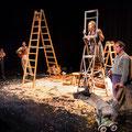 """""""Tischleindeckdich""""- Theater Mummpitz - Bühnenbild Maria Pfeiffer - Foto Rudi Ott"""