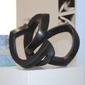 ohne Titel VI - 2006 - Bronze schwarz patiniert -  31(h) x 38 (b) x 34 (t) cm - Ansicht 4