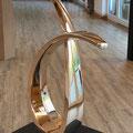 o.T. VIII - 2019 - Bronze hochglanzpoliert - h67xb47xt17 cm