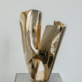 Pela - 2021 - Bronze poliert -h 55 x b 33 x t 44 cm - Ansicht 1