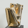 Pela - 2021 - Bronze poliert -h 55 x b 33 x t 44 cm - Ansicht 2