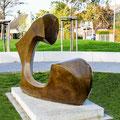 C - 2020 - Bronze 180 (h) x 140 (b) x 45 (t) cm - Ansicht 1 - Foto: Ulla Born