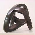 ohne Titel VI - 2006 - Bronze schwarz patiniert -  31(h) x 38 (b) x 34 (t) cm - Ansicht 3