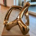 o.T. II, 2019 Bronze - hochglanzpoliert - h34xb40xt36 cm