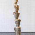 Rosenmontagsstele - 2015 - Bronze - 182x35x32 cm - Ansicht 1