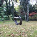 2009 - Bronzeskulptur im Park - 115x70x60 cm - Ansicht 1