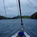 Finally entering the safe harbour of Fair Isle