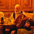 Musicians in one of the many pubs