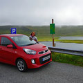 Renting a small car to explore the island.