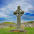 With the famous, 1'300 years old Kildalton Christian cross