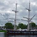 Tall ship for cadets