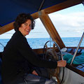 Steering towards Ponta Delgada
