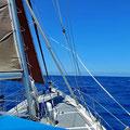 Sailing to Porto Santo