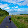 Cycling further northeast to reach an old church
