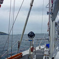 Heading into the Blasket sound with its tide race