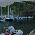 Harbor of Lajes das Flores