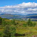 View back to Fort William