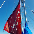 Slow downwind sailing