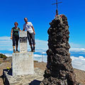 On the top of Pico Ruivo