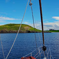 Lovely and safe anchorage of Bunowe Bay