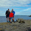Danielle's parents traveled to last nine days from Sligo to Rathlin Island with us