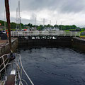 Getting up the first lock