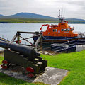 Lifeboat ready in the sound of Islay