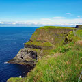 Cliffs on the western tip of Rathlin Island