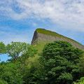 The famous Ben Bulben mountain