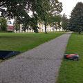 Castle Park of Augustenborg - one of twenty mowing machines