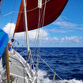 Calm and fast sailing