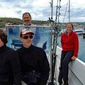 Motorboat trip around Santa Maria with Joao :-)