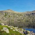 First mountain lake