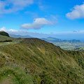 Driving towards Pico da Vara (highest mountain on Sao Miguel)