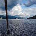 Waiting for a suitable moment to go trough the Corran-narrows with its notorious riptide