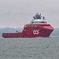 Skandi Vega - another offshore working boat built in 2010 (length 110m / 8'100t / 35'000 hp / bow thruster 4'000 hp / 50m2 moon pool)