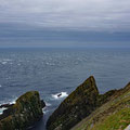 Notorious tide races on the sout point (Sumburgh).