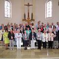 Gruppenbild aller Jahrgänge in der Kirche: DSCF4867 (Für Nachbestellungen im Pfarramt)