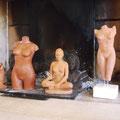 photo de groupe de mes sculptures