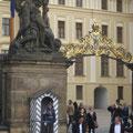 Wache am Haupteingang