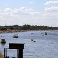 Le Rio Uruguay et le port où débarquèrent les premiers immigrants au milieu du XIXe siècle