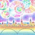 La Seineの花火