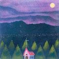 悠久の山と森の教会