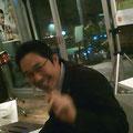 いつも幸せそうにお仕事をしていらっしゃる山梨県広報ご担当の佐藤浩一さん。お肌がすべすべ。
